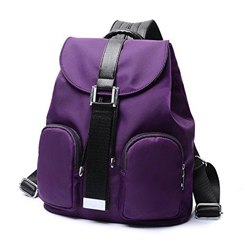 Retro Dos Femme Dos Voyage à Lady Sac Sac Purple à Nylon Sports Mode KYOKIM Double nRHSXgt