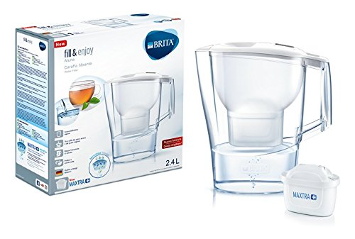 21 opinioni per BRITA Caraffa filtrante per acqua Aluna White con 1 filtro MAXTRA+