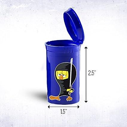Amazon.com: Ninja Chicken Portable Pocket or Purse Size Drug ...