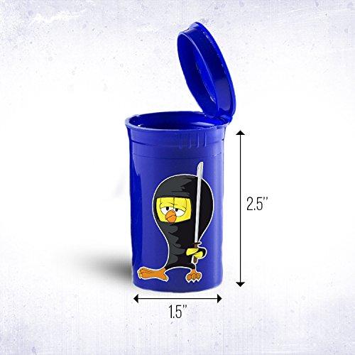 Ninja pollo portátil bolsillo o bolso de mano Tamaño drogas ...