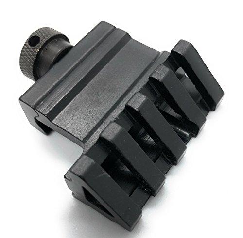 DD DAGGER DEFENSE manual mount 45 Degree offset side rail mount for flashlight, laser or sight accessories or red dot - Set Laser Mount