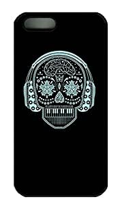 Skull 3 - iPhone 5 5S Case Funny Lovely Best Cool Customize PC iPhone 5 Cover Black by lolosakes