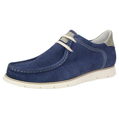 Sioux Men's Loafer Flats Blue
