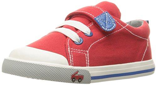 See Kai Run Boys' Stevie II Red Sneaker, 13 M US Little Kid]()