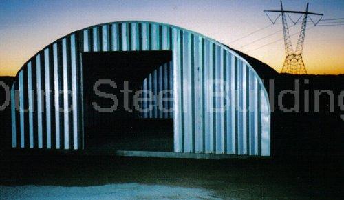 Duro Span Prefabricated Steel Arch Metal Garage Kit S30 X 40 X 14