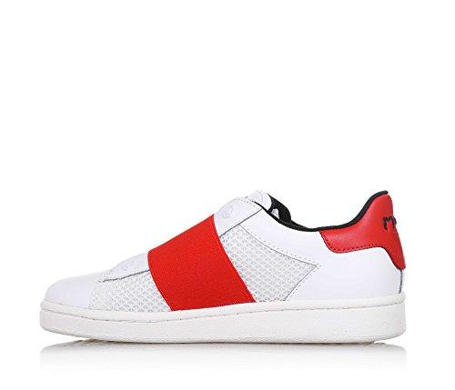 MOA , Chaussures de ville à lacets pour garçon - blanc - Bianco, 37 EU EU