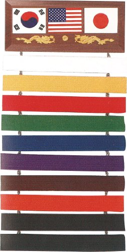 10 karate belt display - 5