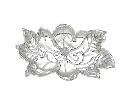 Serving Pewter Pieces (Arthur Court Magnolia 8 by 13-1/2-Inch Tray)