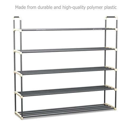New Heavy Duty 30 Pairs Shoe Rack Closet Durable Storage Cabinet Organizer # 401