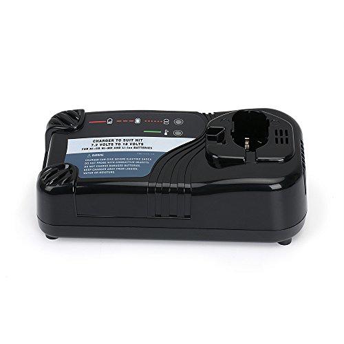Battery Charger UC18YRL for Hitachi 7.2V-18V Ni-Cd/Ni-MH/Li-ion Batteries, Ideal for FEB7S FEB9S FEB12S EB1214L EB1214S EB1220BL EB1212S EB1412 322435 by REEXBON