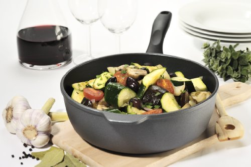 Swiss Diamond Nonstick Saute Pan with Lid, Stainless Steel Handle - 5.8 qt (12.5'') by Swiss Diamond (Image #7)