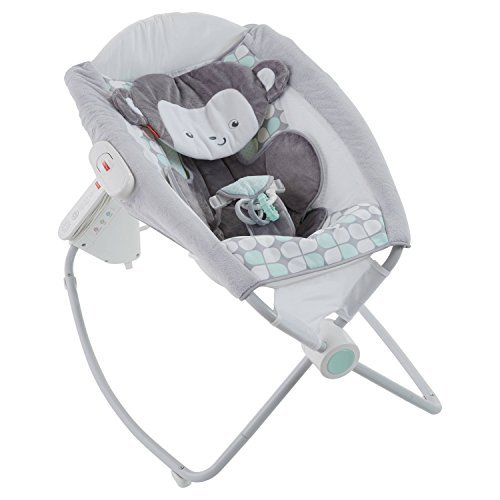 Fisher-Price Sweet Surroundings Monkey Deluxe Auto Rock 'n Play Sleeper by Fisher-Price