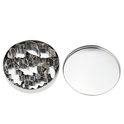 Pyrsun Stainless Steel Cake Fondant Cookie Biscuit Candy Mou