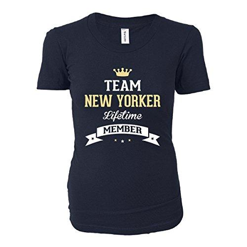 Team New Yorker. Lifetime Member - Ladies T-shirt