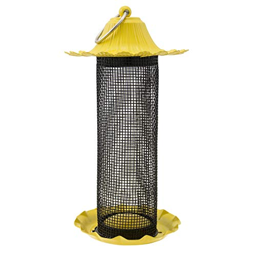 Nyjer Tube Feeder - Stokes Select 38194 Bird Feeder, Yellow