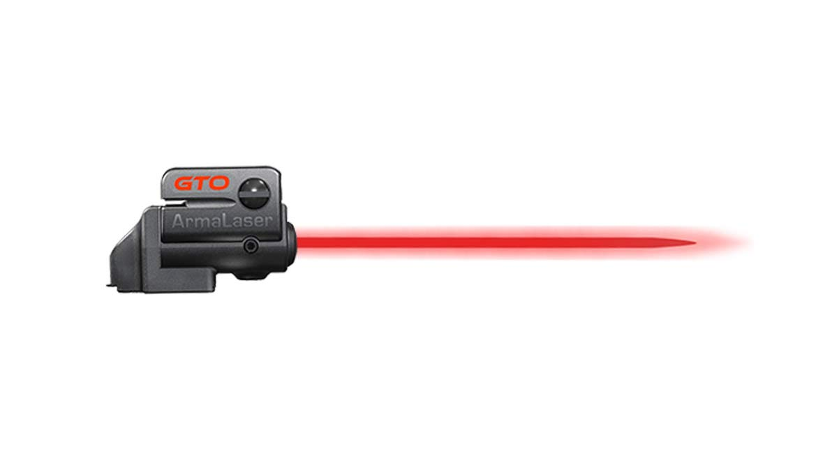 ArmaLaser Taurus PT92 GTO Red Laser Sight and FLX58 Grip Switch