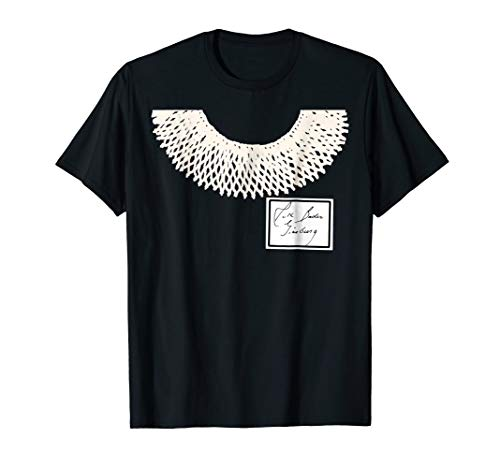 Dissent Collar Ruth Bader Ginsburg Halloween Costume Tshirt -