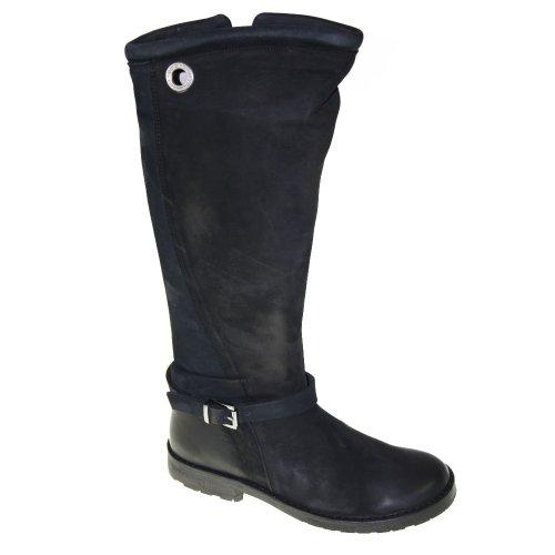 CA'SHOTT Chaussures Femmes - Bottes 10311 - black nobuck
