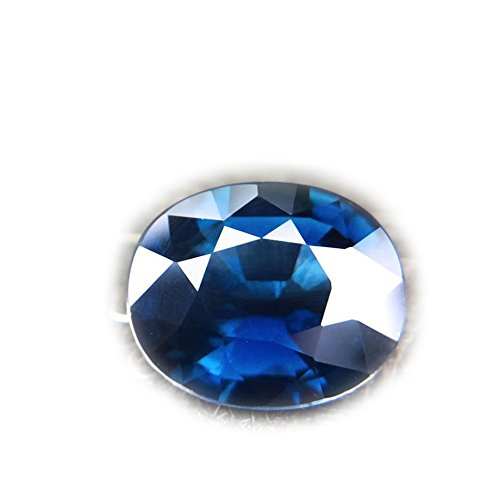 - Lovemom 1.85ct Natural Oval Normal Heated Blue Sapphire Thailand #B