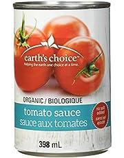 Earth's Choice, Organic Tomato Sauce No Salt Added, 12 Count of 398ml
