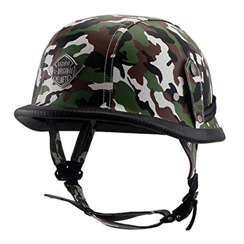 SCHANIN Dual Certified CPSC Multi Sport Adult Bike and Skateboard Adjustable Dial Helmet (Army Green Camouflage,550-560mm)