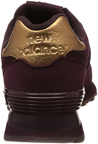 Femme Violet 574 Balance de Chaussures New Burgundy Entrainement Running qwT4zxRYv