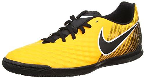 Nike Herren Magistax Ola Ii Ic Fußballschuhe, Orange/Black Orange (Laser Orange/black-white-vert Volt-white)