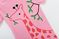 Family Feeling Deer Little Girls' Short Pajamas 100% Cotton Clothes 12M-10 Years