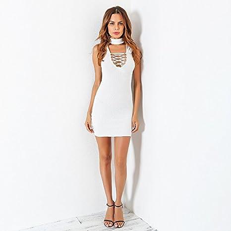 40dc4d65c42 Vestidos Ropa De Moda Para Mujer De Fiesta Sexys Cortos y Noche Blancos  Elegante Casuales at