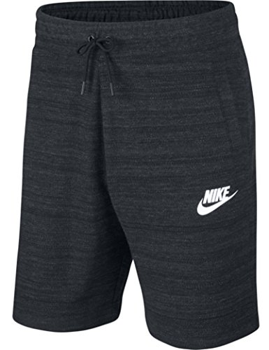 Nike Sportswear Advance 15 Men's Knit Shorts - AQ8395 (XX-Large, Black/HTR/White)