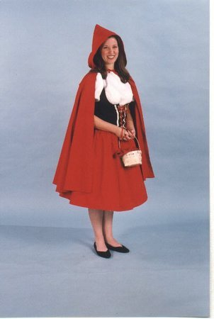 Alexanders Costumes Women's Red Riding Hood Cape, One -