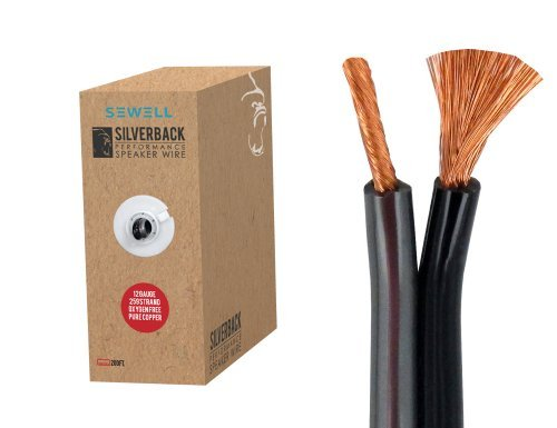 Silverback Speaker Wire by Sewell, 12 AWG, OFC, 259 Strand Count, 200ft, Pull Box