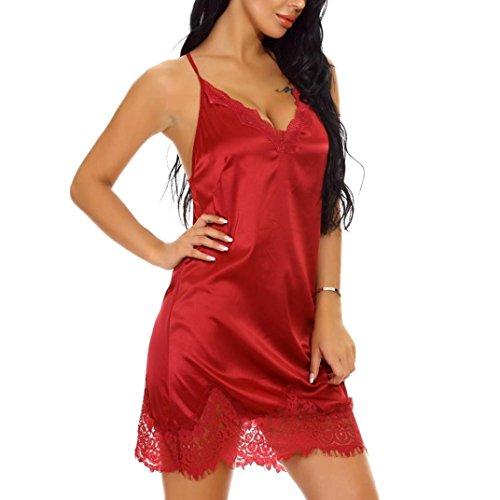 Camicia Red da Donna Wine notte Saihui dqBwxzfd