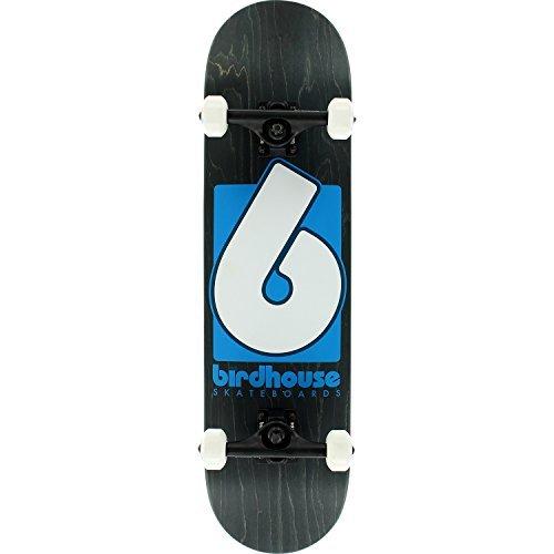 BIRDHOUSE HIGH-GRADE B LOGO SKATEBOARD COMPLETE-8.0 BLUE