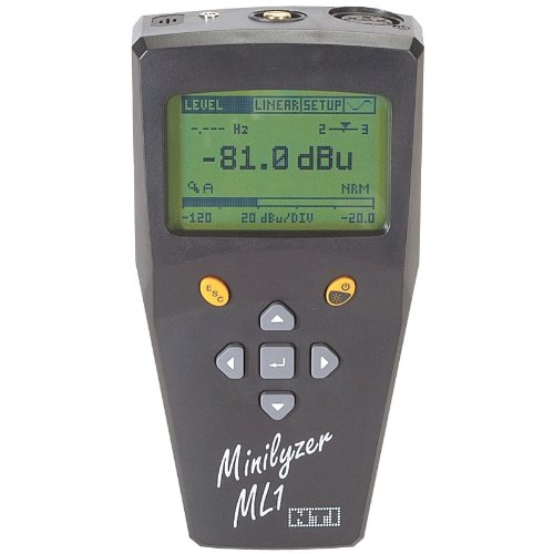 Audio Nti - NTi Audio ML1 Minilyzer Handheld Audio Analyzer