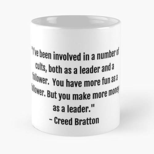 The Office Quotes Creed Bratton - 11 Oz Coffee Mugs Unique Ceramic Novelty Cup, The Best Gift For Holidays.