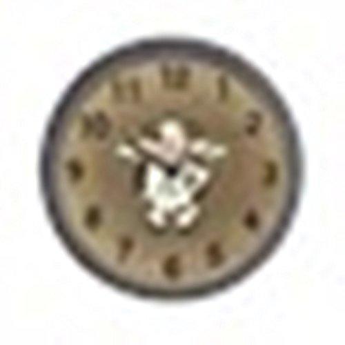 CafePress – Primitive Cow Clock – Unique Decorative 10″ Wall Clock Review
