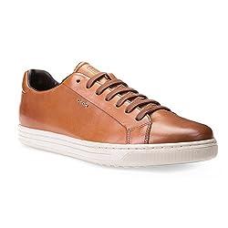 Geox Men's Ricky F Walking Shoe, Grey, 46 EU/12.5 M US