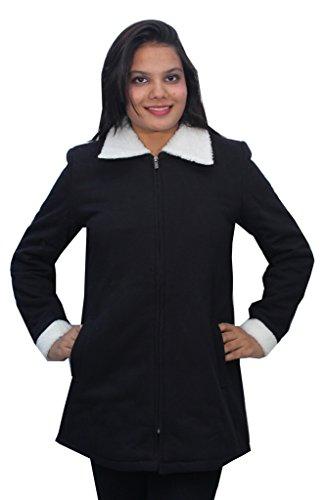 Romano Premium Noir chaud veste d'hiver pour femme