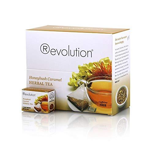Honeybush Caramel - Revolution Honeybush Caramel Tea, 30-Count Tea Bags