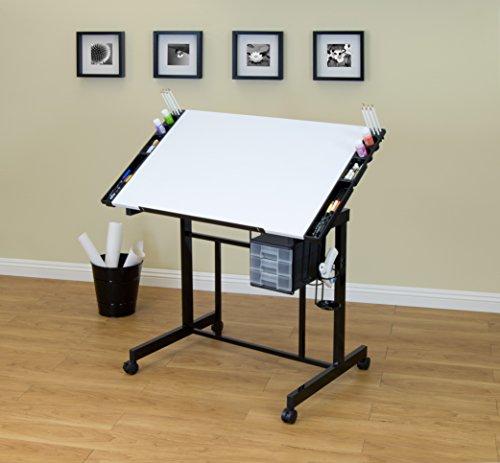 Studio Designs Deluxe Craft Station, Black/White by SD STUDIO DESIGNS (Image #1)
