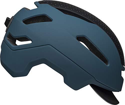(Bell Hub Commuter Adult Bike Helmet (Matte Denim (2019), Medium))
