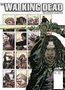 THE WALKING DEAD #1 OFFICIAL MAGAZINE MIDTOWN COMICS EXCLUSIVE MICHONNE COVER ()