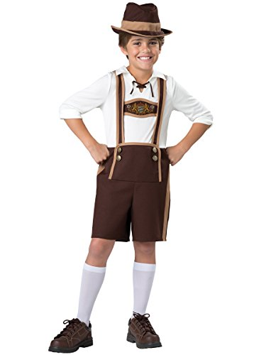 InCharacter Costumes Bavarian Guy Costume, One Color, Size 12 (Bavarian Guy)