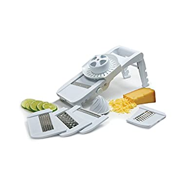 Norpro Deluxe Mandoline Fruit Vegetable Slicer Grater Julienne Juicer Guard 306