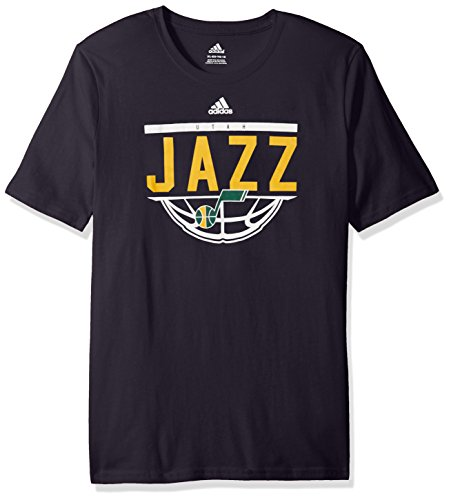fan products of NBA Youth 8-20 Utah Jazz Balled Out Short Sleeve Tee-Navy-XL(18)