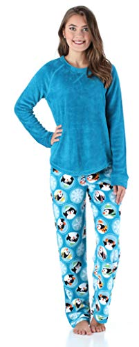 Women's Sleepwear Fleece Long Sleeve Pajamas