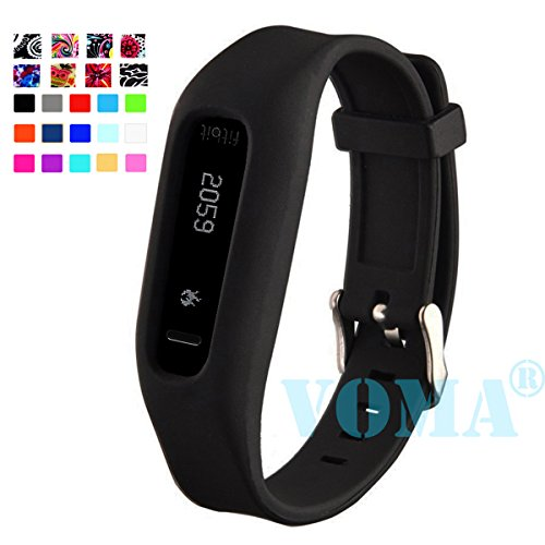 VOMA USA Fitbit One Wristband/Fitbit Band/Fitbit One Band/Fitbit Wristband/Fitbit Bracelet/Fitbit One Replacement Band(Black)