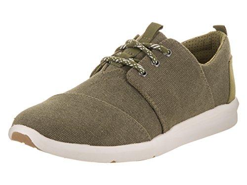 Toms Women's Del Rey Olive Casual Shoe 7.5 Women US