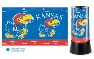WinCraft NCAA University of Kansas Rotating Lamp, 12